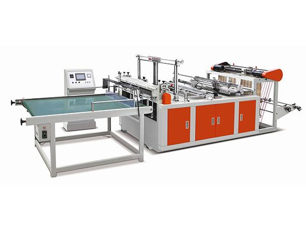 94b69862fe Máquina para producción de bolsa plástica cortada a molde sellada con fondo  de canal doble XD-F450